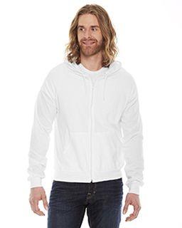 Unisex Fine Jersey Zip hoodie-