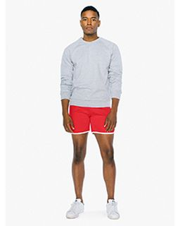 Unisex Interlock Shorts-American Apparel