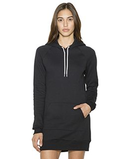 Ladies Flex Fleece Hooded Dress-American Apparel