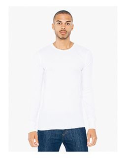 Adult Thermal Long-Sleeve T-Shirt-American Apparel