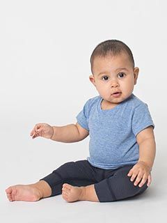 Infant Triblend Short-Sleeve T-Shirt-American Apparel