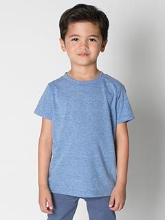 Toddler Triblend Short-Sleeve T-Shirt-American Apparel