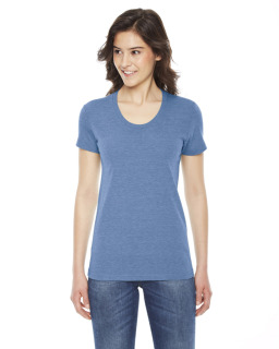Ladies Triblend Short-Sleeve Track T-Shirt