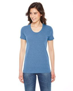 Ladies Triblend Short-Sleeve Track T-Shirt