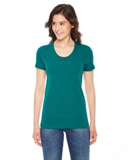 Ladies Triblend Short-Sleeve Track T-Shirt-