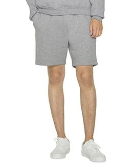 Unisex Mason Fleece Gym Short-American Apparel