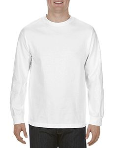 Adult 6.0 Oz., 100% Cotton Long-Sleeve T-Shirt-