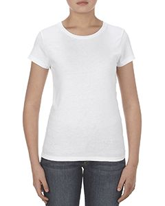 Missy 4.3 Oz., Ringspun Cotton T-Shirt-