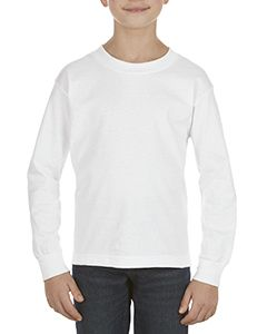 Youth 6.0 Oz., 100% Cotton Long-Sleeve T-Shirt-