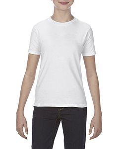 Youth 4.3 Oz., Ringspun Cotton T-Shirt-