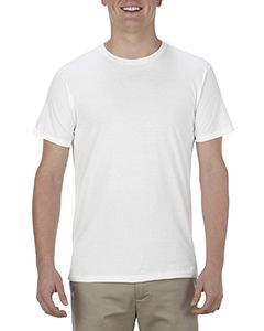 Adult 4.3 Oz., Ringspun Cotton T-Shirt-