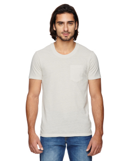 Mens Eco Jersey Triblend Pocket Crew-
