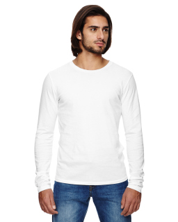 Mens Heritage Garment-Dyed Long-Sleeve T-Shirt-