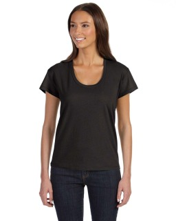 Ladies Roadtrip Satin Jersey T-Shirt-