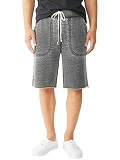 Mens Burnout French Terry Victory Short