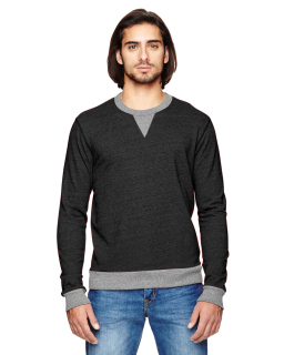 Mens Champ Eco-Mock Twist Ringer Sweatshirt-