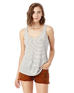 Castaway Eco-Jersey Yarn Dye Stripe Tank-Alternative