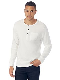 Mens Organic Pima Cotton Classic Henley-Alternative