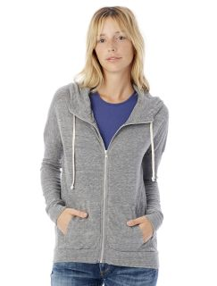 Ladies Cool Down Eco-Jersey™ Zip Hoodie-Alternative