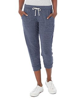 Ladies Cropped Eco Jersey Jogger Pants-Alternative