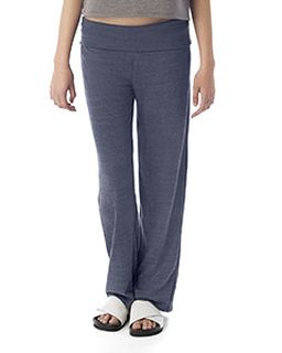 Ladies Fold Over Eco Jersey Pants-Alternative