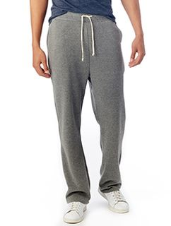 Mens Hustle Eco-Fleece Open Bottom Sweatpants-Alternative