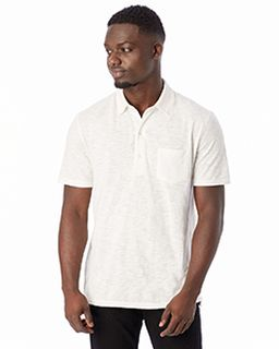 Fairway Washed Slub Polo Shirt-Alternative