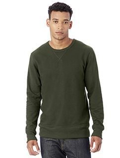 Mens Reversible B-Side Vintage French Terry Crewneck
