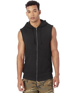 Mens French Terry Warm Up Hoodie-Alternative