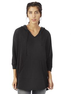 Ladies French Terry Gameday Poncho-Alternative