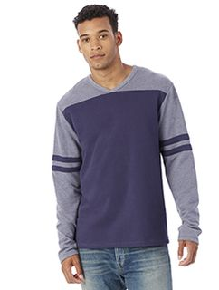 Mens French Terry Trainer L/S Pullover-Alternative