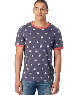 Unisex Eco-Jersey™ Ringer T-Shirt-