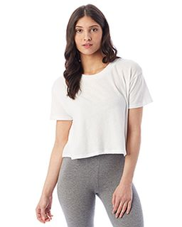 Ladies Headliner Cropped T-Shirt-Alternative
