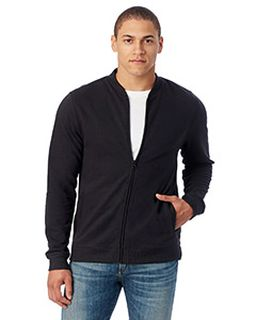 Mens Bomber Vintage French Terry Bomber Jacket-Alternative