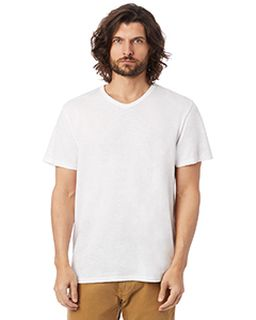 Adult Weathered Slub V-Neck T-Shirt-