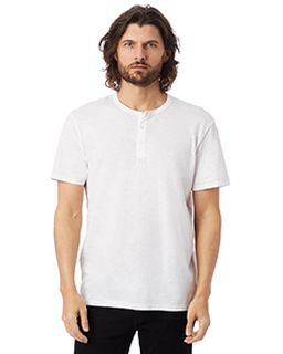Adult Weathered Slub Henley T-Shirt-Alternative