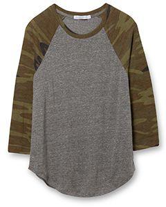 Ladies Eco Jersey Raglan Baseball T-Shirt