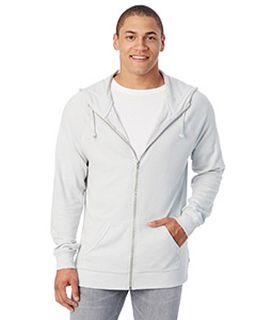 Mens Weekender Vintage Heavy Knit Full-Zip Hoodie-