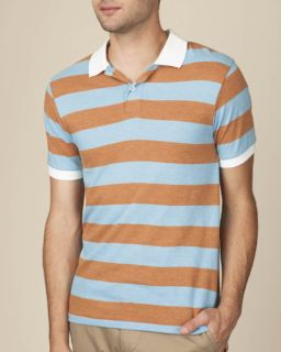 Mens Ugly Stripe Short-Sleeve Polo-Alternative