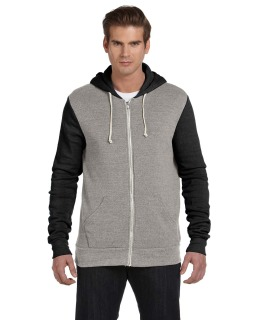 Unisex Rocky Eco-Fleece Colorblocked Hoodie-