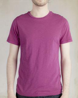 Mens Dean Slub Crew T-Shirt-