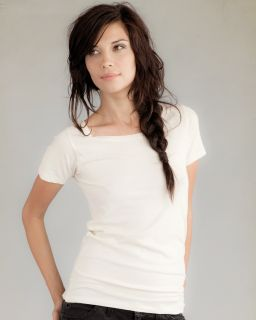 Ladies Organic Scoop Neck T-Shirt-