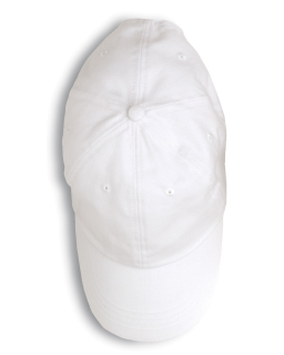 6-Panel Brushed Twill Cap