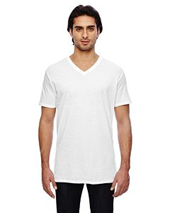 Adult Featherweight V-Neck T-Shirt-Anvil