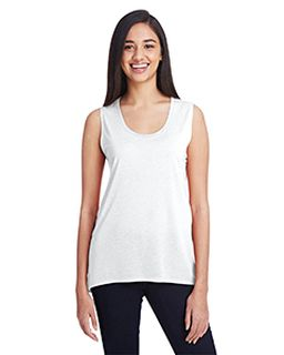 Ladies Freedom Sleeveless T-Shirt-