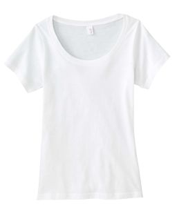 Ladies Ringspun Sheer Featherweight T-Shirt