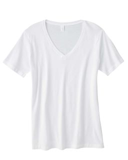 Ladies Featherweight V-Neck T-Shirt-Anvil