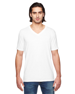 Adult Triblend V-Neck T-Shirt-