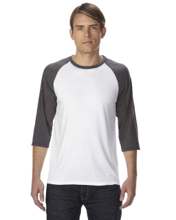 Adult Triblend 3/4-Sleeve Raglan T-Shirt-