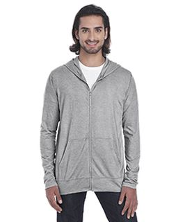 Adult Triblend Full-Zip Jacket-Anvil